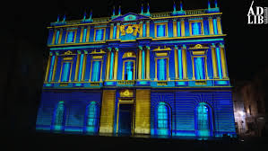 bureau de change arles projection mapping at arles barco