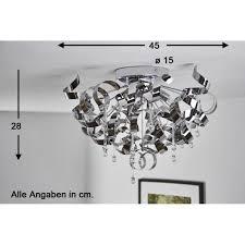 plafonnier design pour chambre plafonnier hofstein gela chrome achat vente plafonnier gela