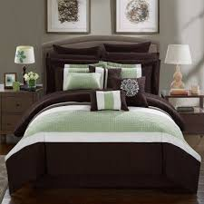 Bed In A Bag King Comforter Sets Keira 16 Piece Bed In A Bag King Comforter Set By Chic Home