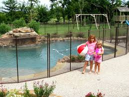 Backyard Pool Safety by In Ground Pools And Child Safety Childguard Diy Pool Fence