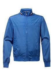 men s tommy hilfiger coated parka jacket blue pare bluewater