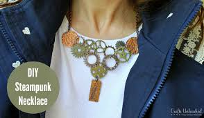 diy punk necklace images Steampunk necklace tutorial crafts unleashed jpg
