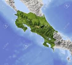 Map Costa Rica Costa Rica Map Stock Photos U0026 Pictures Royalty Free Costa Rica
