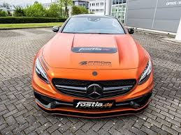 mercedes amg orange bright orange 730 hp mercedes amg s63 will burn your