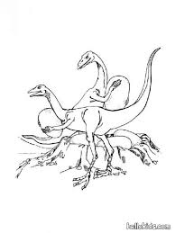 allosaurus volcano coloring pages hellokids