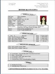 Example Great Resume by Tes Cv Advice Example Good Resume Template