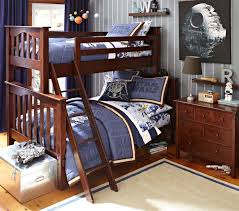 kendall twin over full bunk bed pottery barn kids