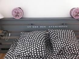 Lit Avec Des Palettes Créer Une Tête De Lit Avec Une Palette De Chantier Chambres D