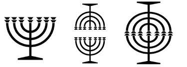 candeliere ebraico il segreto candelabro a sette braccia menorah il