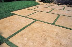 Colored Concrete Patio Pictures Stamped Concrete Rock Salt Embossing Skin Pattern