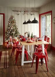 christmas decorating theme scandi