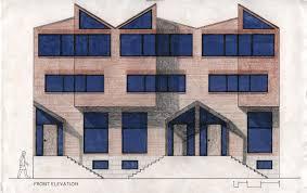 Row Houses Elevation - rowhouses