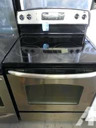Ge Glass Cooktops Used Stainless Steel Stove U2013 April Piluso Me