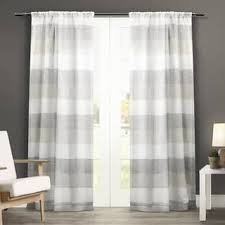 Purple And Cream Striped Curtains Stripe Curtains U0026 Drapes Shop The Best Deals For Dec 2017