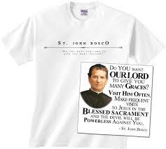 catholic gifts and more st bosco value t shirt catholic store st bosco and gift