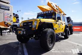 yellow jeep 2017 sema innovative creations yellow jeep jk wrangler unlimited