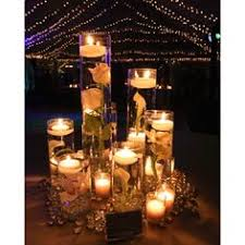 Floating Candle Centerpieces by Floating Candle Centerpiece But With Only 3 And No Flowers And
