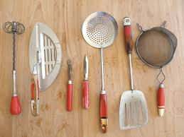 Kitchen Cooking Utensils Names by Who Needs Crystal Animals When You Can Collect Red Antique