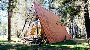 a frame houses are too cute greenapril build your own 24 x 21 a frame 2 story cabin diy plans fun to