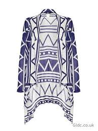 Drape Cardigan Pattern Aftershock Aztec Open Knit Waterfall Drape Cardigan Multi