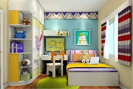 cartoon design children u0027s room walls and wardrobe interior design