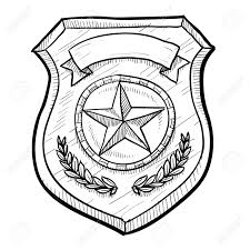 cartoon police badge free coloring pages on art coloring pages