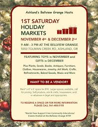 holiday bazaars u2014 what to do in southern oregon
