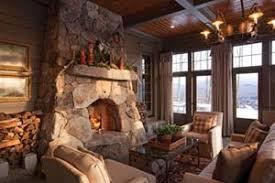 rustic stone fireplaces rustic stone fireplace design decoration