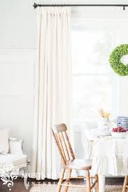 How To Hang Pottery Barn Curtains Emery Linen Cotton Drape Pottery Barn 50x84