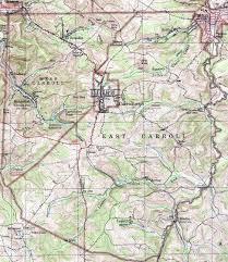 Pennsylvania Road Map by Cambria County Pennsylvania Township Maps