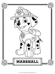 disegno paw patrol 05 personaggio cartone animato da colorare
