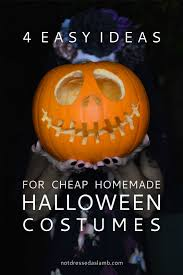 4 easy ideas for cheap homemade halloween costumes not dressed
