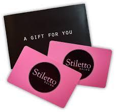 salon gift card stiletto salon hair salon in albany ny