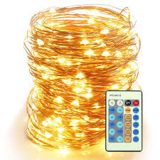 Led Wire String Lights by Amazon Com Moobibear 66ft Outdoor Dimmable Led String Lights