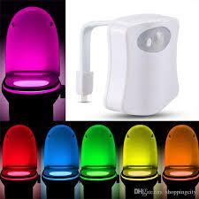 Motion Sensor Bathroom Light 2018 Smart Led Toilet Light Motion Sensor Activated Bathroom Night