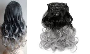 clip on hair extensions todo 24inch curly ombre style 7 16 clip hair extensions in