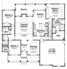 Ranch Floor Plans Single Storey Ranch House Plans Escortsea Plan One Floor