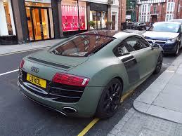 Audi R8 Green - audi r8 v10 rear matt green lk120 flickr