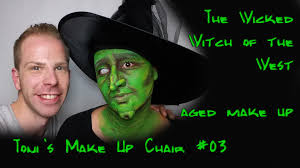 wicked witch of the west wizard of oz aged makeup old age