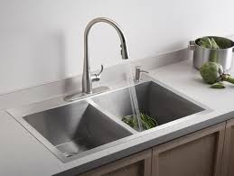 faucet for sink in kitchen kitchen sink styles and trends hgtv