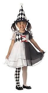 Amazon Halloween Costumes Kids Amazon Lil U0027 Harlequin Cute Kids Costume Clothing