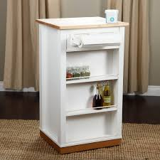 venture horizon holden kitchen island with hidden trash bin