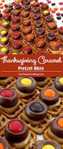 thanksgiving treat thanksgiving caramel pretzel bites two sisters crafting