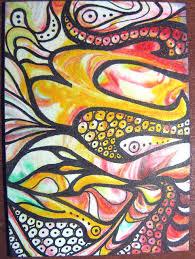 zentangle color swap 7 card b art club art education and art