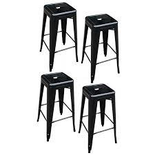 bar stools carlisle 24 metal counter stool natural metal set of