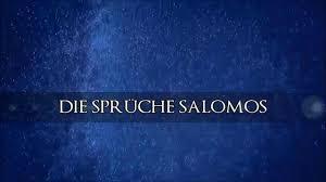 sprüche salomos die bibel die sprüche salomos kap 21