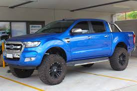 ford ranger with a lift kit ford ranger px11 dual cab blue 11111 superior customer vehicles