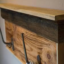 shop reclaimed wood coat rack on wanelo