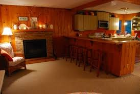 paint knotty pine walls or not