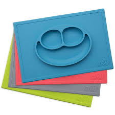 baby plates ezpz the original all in one silicone plates placemats